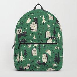 Cemetery Cuties (Green) Backpack