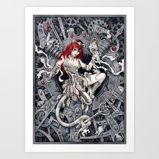 Rat Queen Art Print
