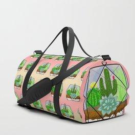 Succulent & Cactus Terrarium Duffle Bag