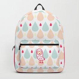 009 OWLY coloured rain Backpack