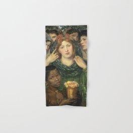 Dante Gabriel Rossetti - The Beloved (The Bride) Hand & Bath Towel