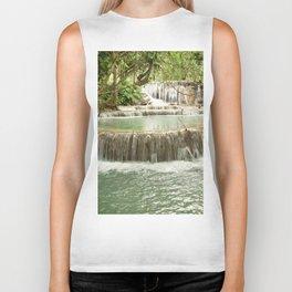 Zen Waterfalls Harmony Biker Tank