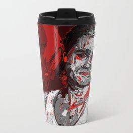 Jack Burton Tribute (Red Version) Metal Travel Mug