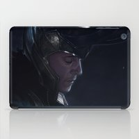 loki iPad Cases featuring Loki by MATT DEMINO