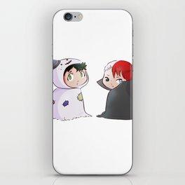 Deku and Shoto halloween iPhone Skin