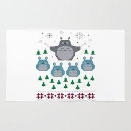 totorro christmas Rug