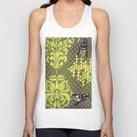 bees Tank Tops featuring Bees by Art of Phil Seifritz