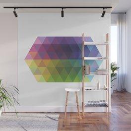 Fig. 016 Geometric Shape Triangles Wall Mural