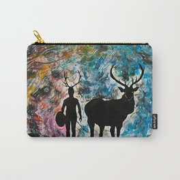 Channeling Carry-All Pouch