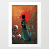 japan Art Prints featuring Japan by Ludovic Jacqz