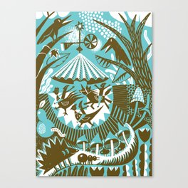 Merry go round Canvas Print