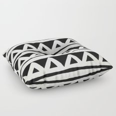 Tribal Chevron Stripes Floor Pillow