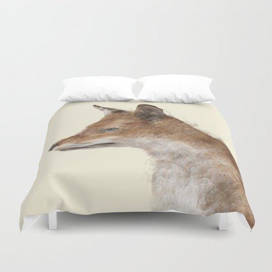 the fox Duvet Cover