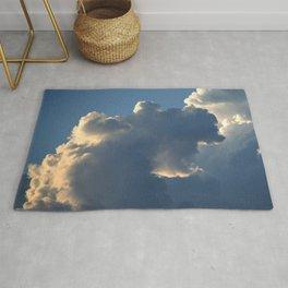 """Darkest Before The Dawn"" Dramatic Clouds Rug"