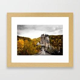 Castle in the Woods 2 Framed Art Print