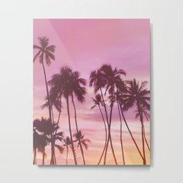 Classic Tropics Metal Print
