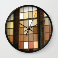 Window Worship Wall Clock