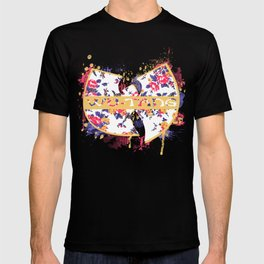 Wutang Wednesday Floral Print Redesign  T-shirt