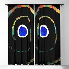 Spiral color Blackout Curtain