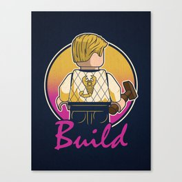 A Real Mini Hero Canvas Print