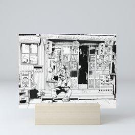 tokyo drinker Mini Art Print