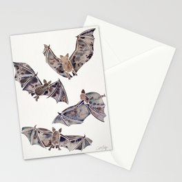 Bat Collection Stationery Cards