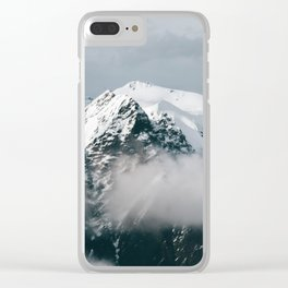 Mountains Up North Clear iPhone Case