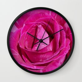 Valentine's Day Roses 21 Wall Clock