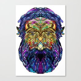 You're only given a little spark of madness Canvas Print