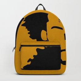yellow orange Backpack