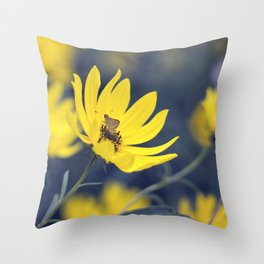 Little Skipper Butterfly Throw Pillow