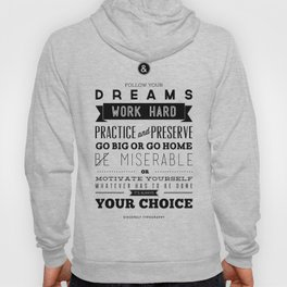 Sincerely Typography Hoody