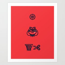 Year of the Bulldog Art Print