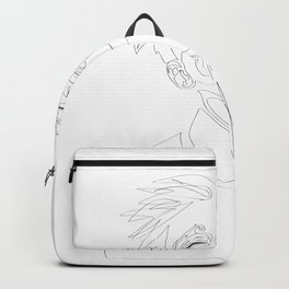 Fashion Minimal Line Illustration Backpack
