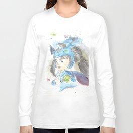 League of Legends - Vayne Watercolour Long Sleeve T-shirt