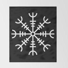 Aegishjalmur v2 Throw Blanket