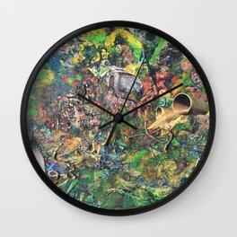 Miasmic Jungle Wall Clock