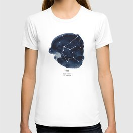Zodiac Star Constellation - Aquarius T-shirt