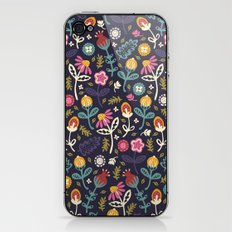 Ditsy Flowers iPhone & iPod Skin