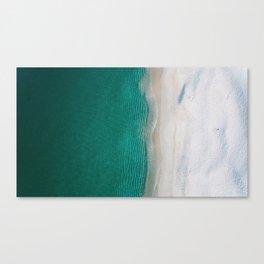 Fantastic Ocean Beach Canvas Print