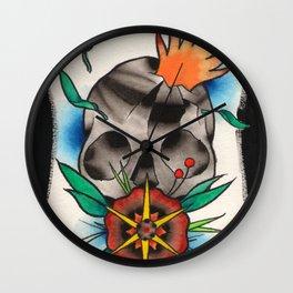 Skull of Unnamed Fear Wall Clock
