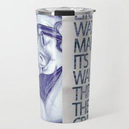 Like water through the cracks Travel Mug