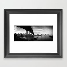 From the Brookly Bridge Park Framed Art Print