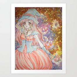 Little Witch Art Print