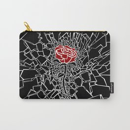The Shattered Rose Carry-All Pouch