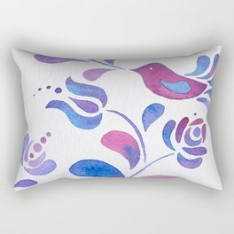 Violet Nature Rectangular Pillow