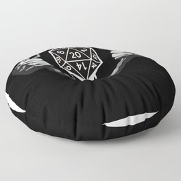 RPG RPG Game Master D20 In The Chest Floor Pillow