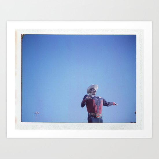 Big Tex02 Art Print