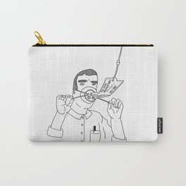 I Love True Crime - Masculine Version Carry-All Pouch