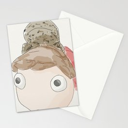 DekaDeka & DekaSan (Ponyo and Salamander) Stationery Cards